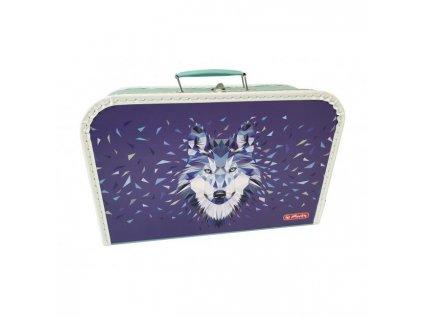 Detský kufrík 35 cm mix motívov Wild Animals Vlk, Rys