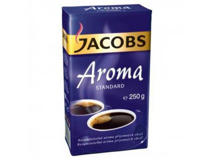 Káva JACOBS Aroma Standard mletá 250g