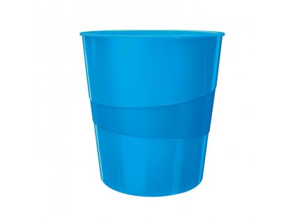 Kôš plastový Leitz WOW 15l modrý