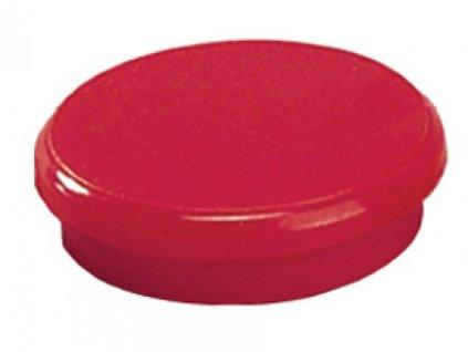 Magnet 10 mm červený 10ks