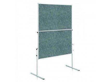 Moderačná tabuľa 150x120 cm ECONOMY