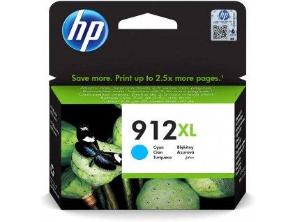 Atramentová náplň HP 3YL81AE HP 912XL pre Officejet 8012e/8013/8022e/ 8023 cyan XL (825 str.)