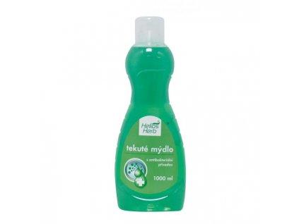 Tekuté mydlo Helios Herb 1l Antibakteriálne