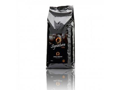 Káva Signatura OMEGA, zrnková, 1000 g
