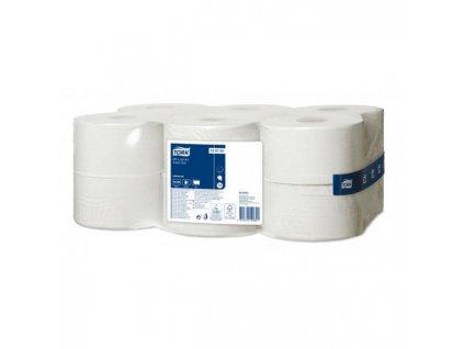 Toaletný papier 1-vrstv. TORK Mini Jumbo 18,8cm, návin 240m, sivý T2 (12ks)