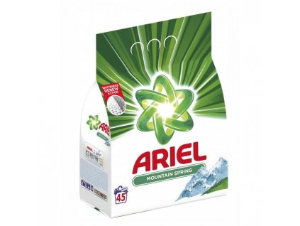 Ariel prací prášok (45 PD) 3,37kg Mountain Spring