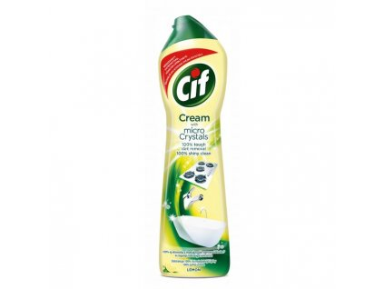 Cif Cream tekutý piesok 720g/500ml Lemon