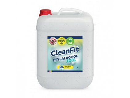 CleanFit dezinfekčný gél 70% citrus na ruky 10l