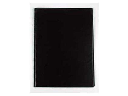 Dosky obyčajné so spodným vreckom KARTON PP čierne
