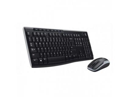 Bezdrôtový set klávesnica Logitech MK 270 + myš, optický, USB, CZ/SK