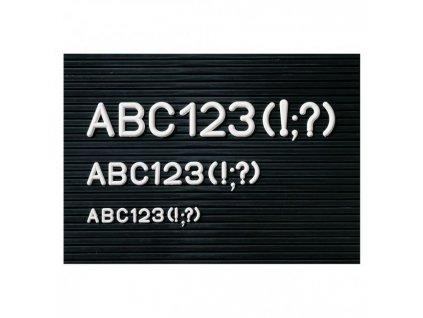 Dodatková sada písmen 12 mm