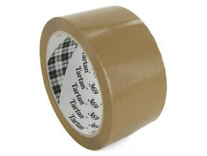 Baliaca páska Tartan 50mm x 66m hnedá