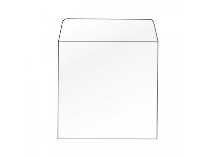 Obálky na CD 125x125 bez okienka 100 ks