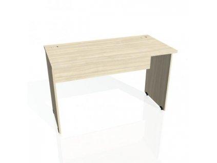 Pracovný stôl Gate, 120x75,5x60 cm, agát/agát