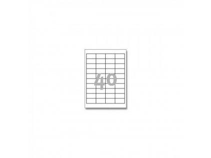 Etikety A4 Print 48,5x25,4mm (40)