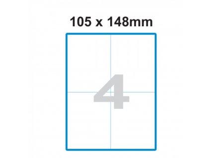 Etikety A4 Print 105x148mm (4)