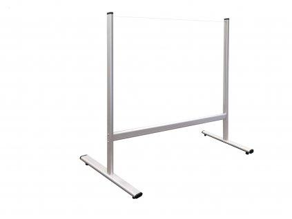 Bezpečnostná deliaca plexi stena na stôl 100 x 65 cm