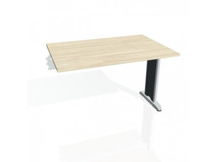 Rokovací stôl Flex, 120x75,5x80 cm, agát/kov