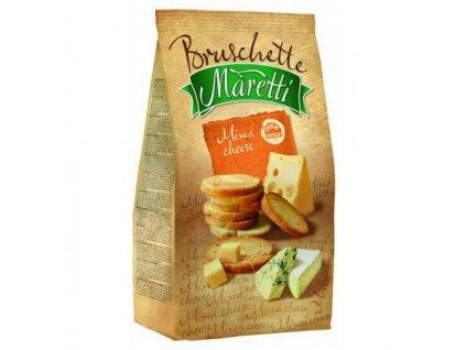 Maretti Bruschette štyri druhy syra 70g