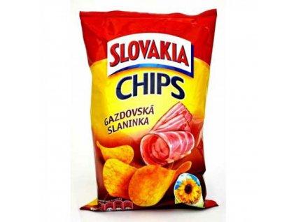 Slovakia Chips gazdovská slaninka 100 g