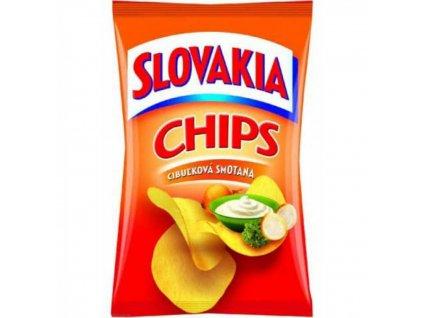 Slovakia Chips smotanová cibuľka 100 g