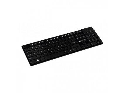 Bezdrôtová klávesnica Canyon CNS-HKBW2-SK čierna