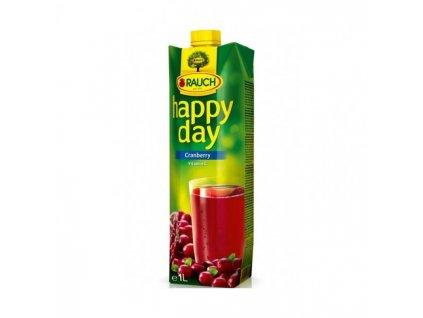 Džús Happy Day Brusnica 30% 1l