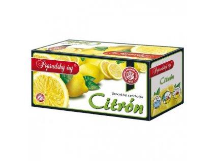 Čaj BOP ovocný citrón 40g