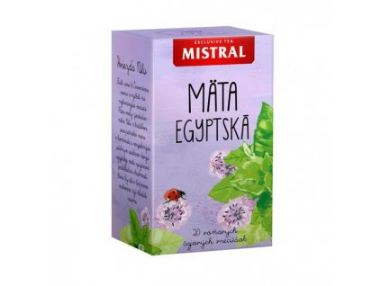 Čaj MISTRAL bylinný Egyptská mäta 30g