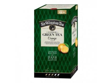 Čaj SIR WINSTON Green Tea Orange 35g