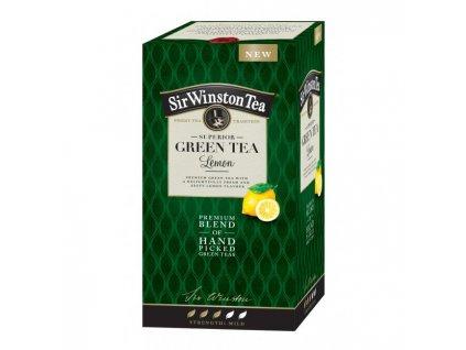 Čaj SIR WINSTON Green Tea Lemon 35g