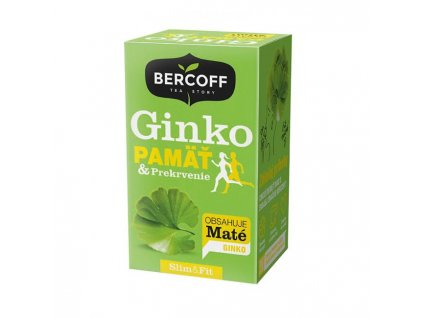 Čaj Bercoff Wellness Ginko Biloba/ Pamäť prekrvenie 30g