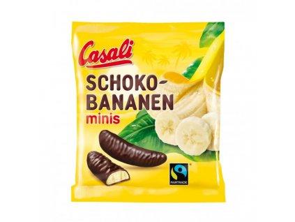 Mini banány v čokoláde Casali 125g
