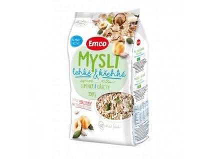 Cereálie MYSLI sypané 550g ľahké a krehké semienka a orechy