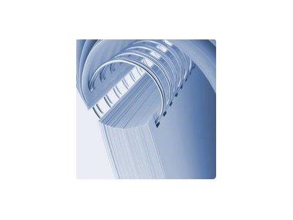 Drôtená väzba 2:1 25,4 mm biela