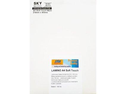Laminovacia fólia A4-100 mic. Matná Soft Touch