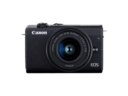 EOS M200 Black+EF-M 15-45mm IS STM CANON