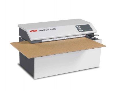 HSM Profipack C400 skartovač na kartón