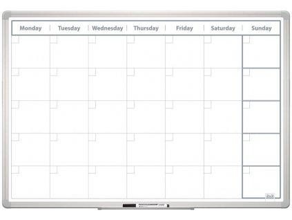 Mesačná plánovacia tabuľa 60x90 ENG