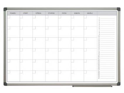 Mesačná plánovacia tabuľa 60x90