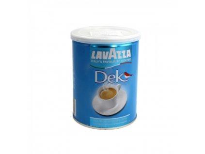 Káva LAVAZZA DEK mletá 250g, bezkofeinu