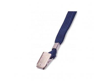 Šnúrka LILY s klipom - modrá 100 ks