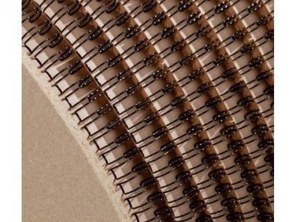 Drôtená väzba 3:1 11 mm návin, čierna