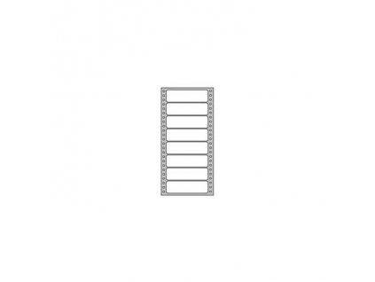 Etikety tabelačné 101,6x36mm APLI 1 radové
