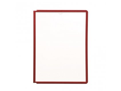 DU560603 Katalogovy panel SHERPA A4 cerveny