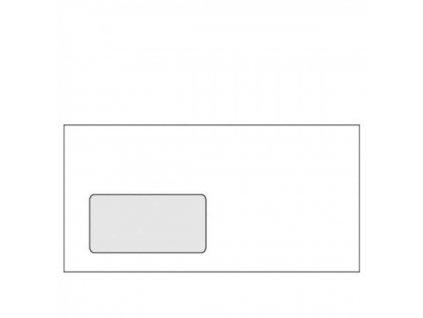 Obálky DL samolepiace okienko vľavo