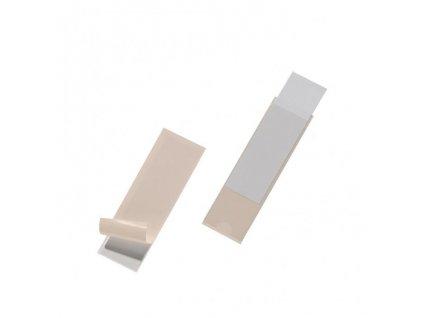 Samolepiace vrecko na zakladače DURABLE 28 x100mm 10ks