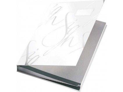 Designová podpisová kniha Leitz biela