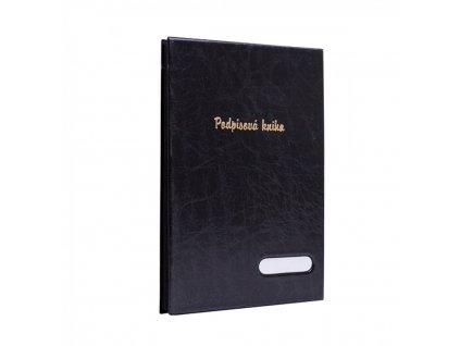 Podpisová kniha čierna