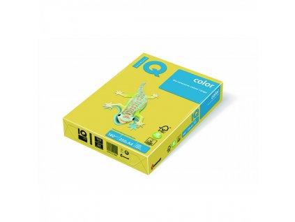 Kopírovací papier A4 160g Motif IQ kanárikovo žltý CY39 C1A X416MC1